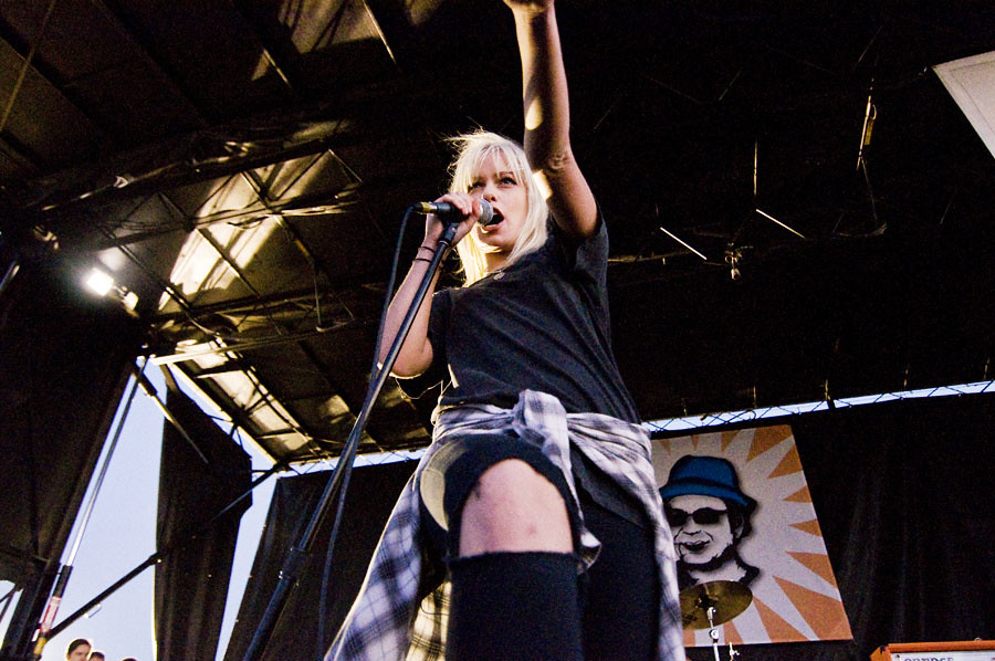 Jenna McDougall of Tonight Alive
