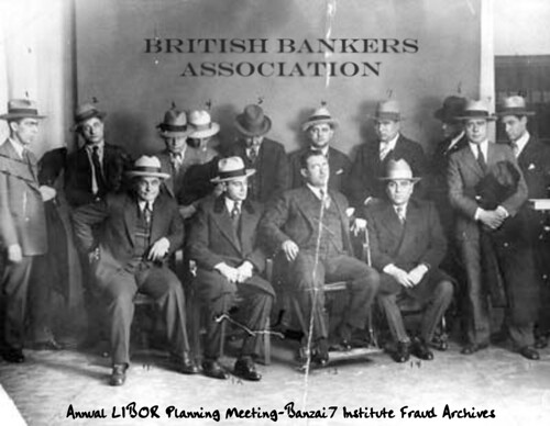 BBA LIBOR MEETING by Colonel Flick