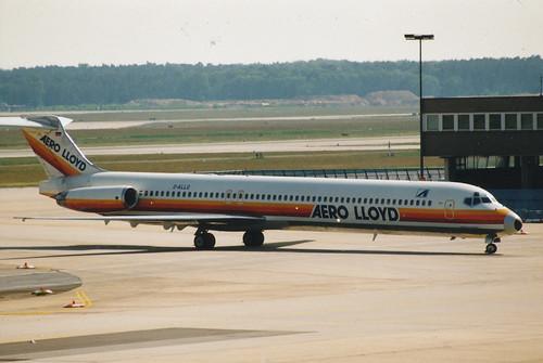 IMG_0007 Frankfurt MD-80 Aero Lloyd