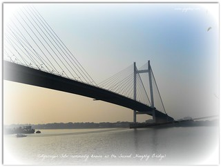 Vidyasagar Setu (commonly known as the Second Hooghly Bridge)