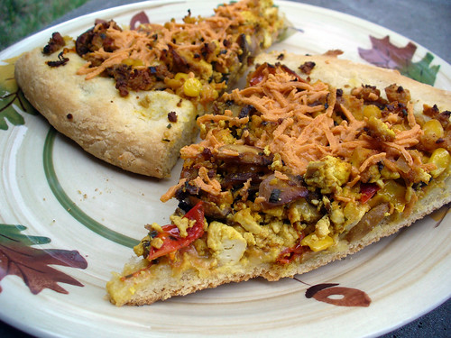 2012-06-30 - Tofu Scramble Breakfast Pizza - 0007