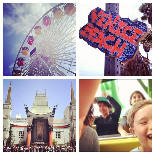 Fun in LA- Santa Monica, Venice Beach and Hollywood- Instagram Review