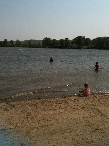 Farm island recreation center swim beach