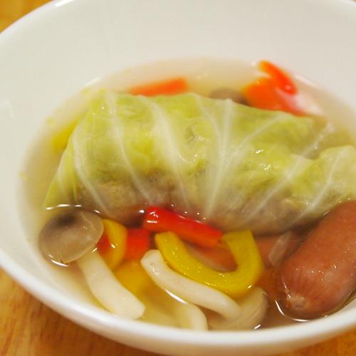 やお九州の野菜で作ったロールキャベツ