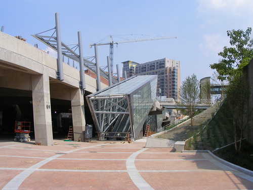 Sarbanes Transit Center Under Construction, May 2012