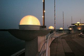 Monona Terrace Lights at Dusk