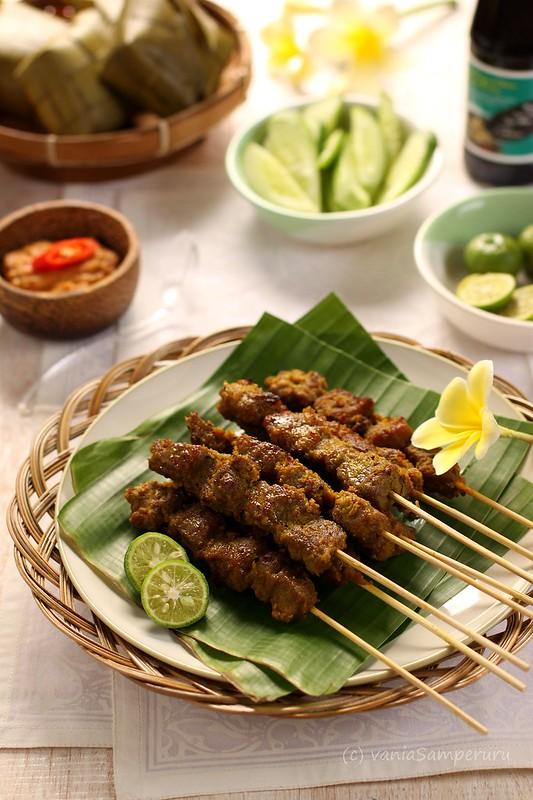 Homemade Balinese Satay