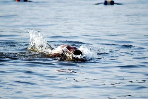 nick - swimming