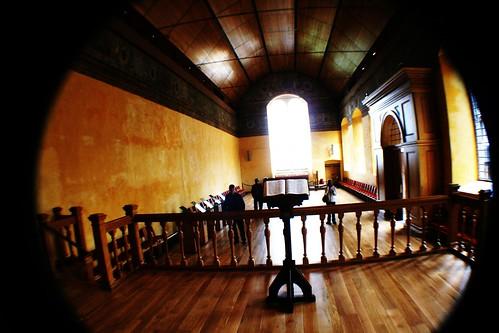 Inside Chapel Royal, Stirling Castle