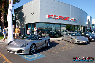 Porsche Coffee & Cars event