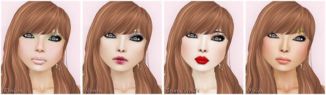 Fairy Tales 2012 - Lara Hurley-Elaine-Nuala-Snow White-Xylia