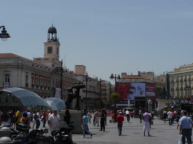 Puerta del Sol - Tor der Sonne