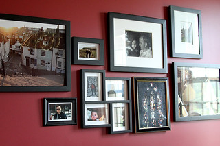 Beginning of the Photo Wall