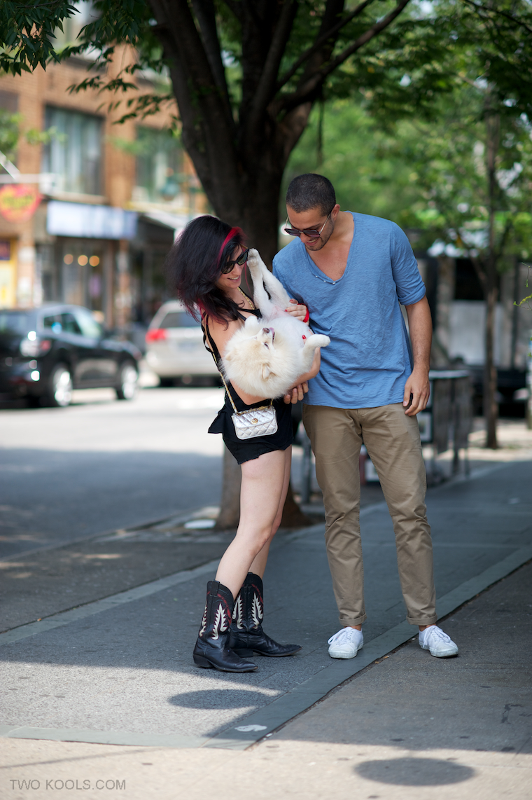 stylish couples on street style blogs