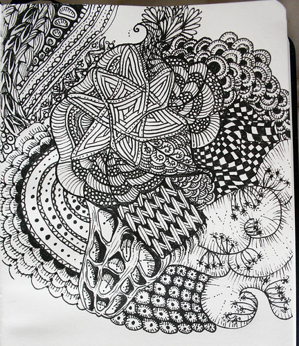 Zentangle Inspired Art....
