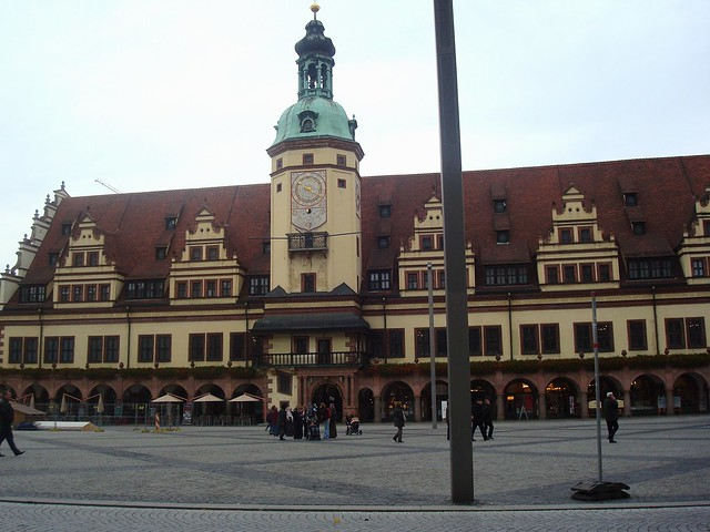 The Old Townhall of Leipzig