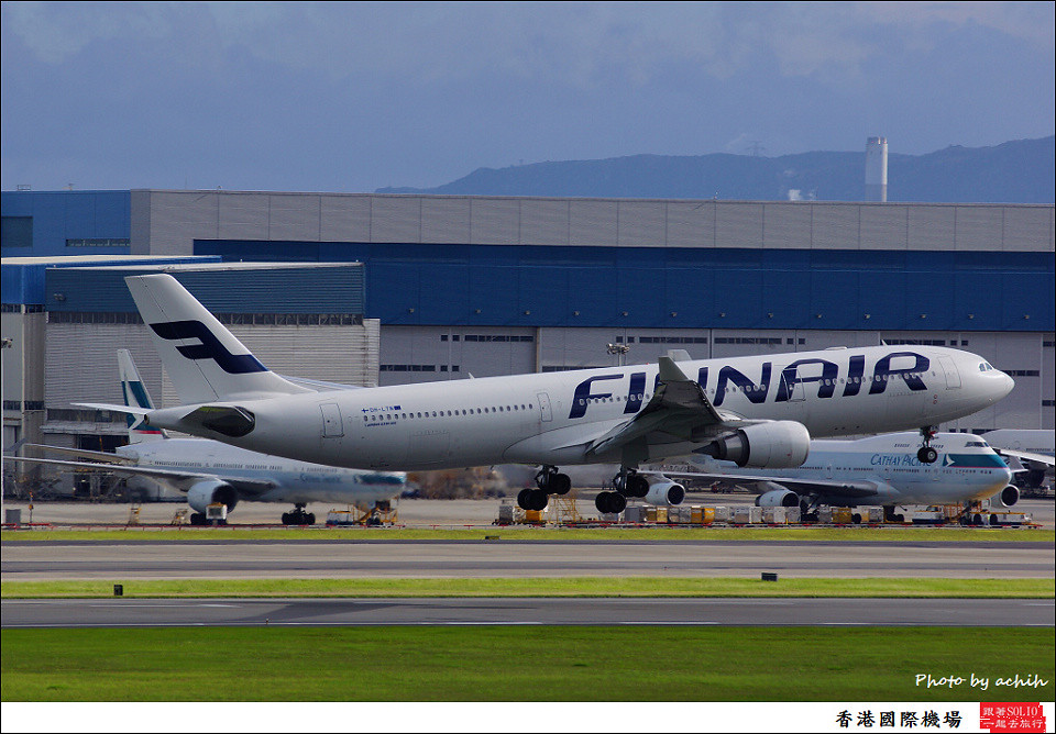 Finnair / OH-LTN / Hong Kong International Airport