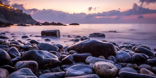 longexposure beach water sunrise canon landscape agua rocks playa paisaje amanecer rocas piedras largaexposición 60d efectoseda púrpurapurple