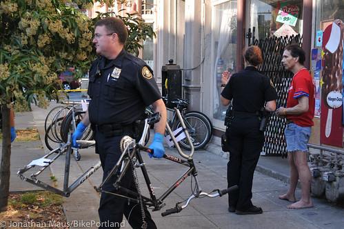 Stolen bikes at drug bust in Old Town-6