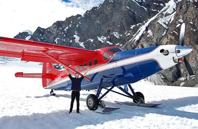 Yay denali flightseeing - glacier landing alaska