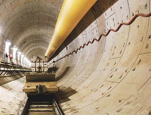 deep tunnel sewage system, Singapore (courtesy of KPMG Infrastructure 100)