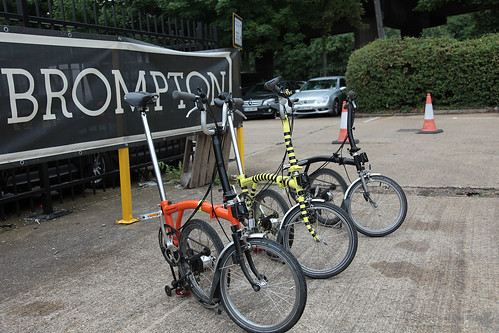 Brompton Factory Ride & Open Day 2012