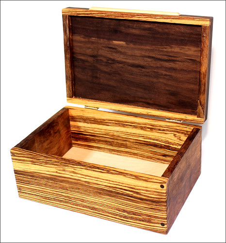 Zebrawood Box