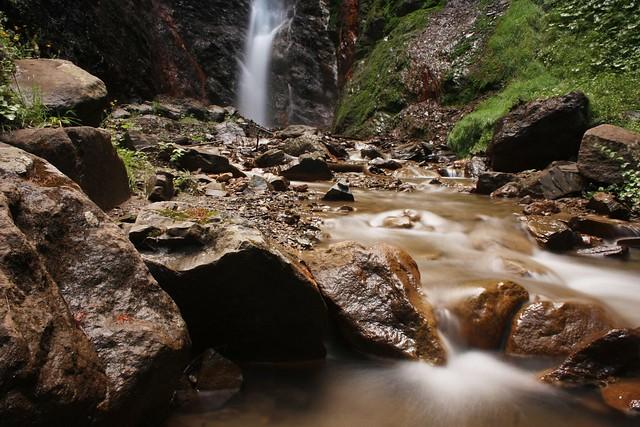 Flitzer Wasserfall