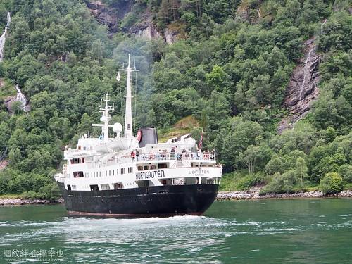 Hurtigruten voyage to Geirangerfjord