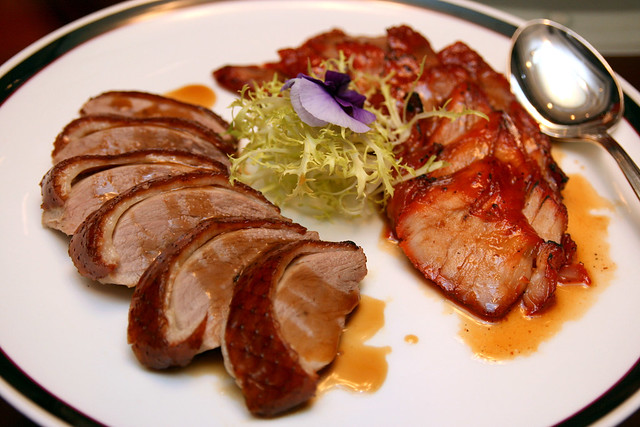 Roasted Duck and Roasted Char Siew