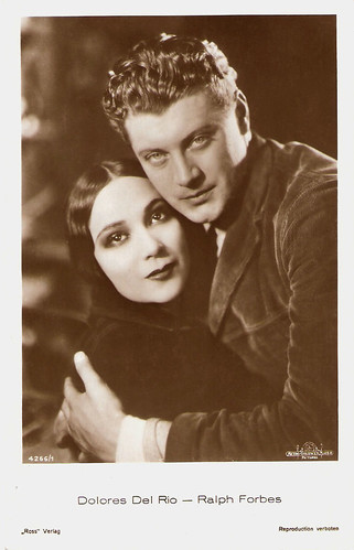 Ralph Forbes and Dolores Del Rio in The Trail of '98 (1928)
