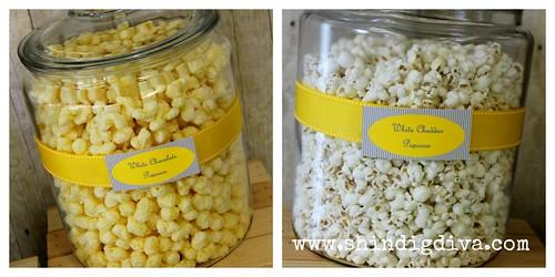 popcorn w logo