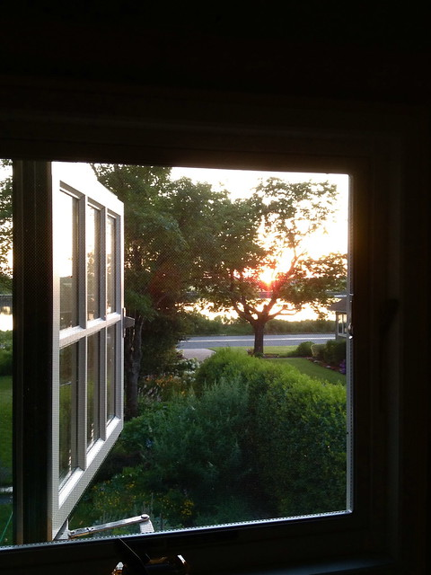 Sunrise from the Attic