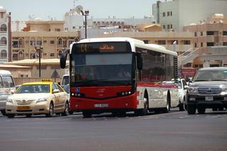 Dubai 2012 – VDL Citea bus in Dubai