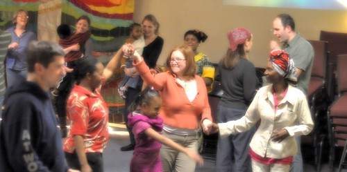 Dancing at Living Water