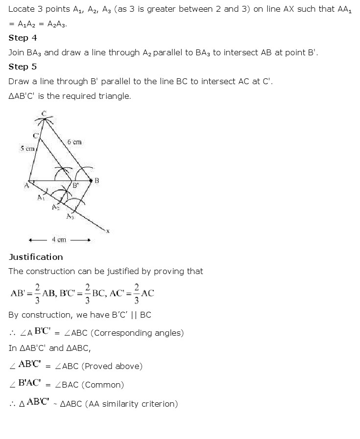 NCERT Solutions For Class 10 Maths Chapter 11 Constructions PDF Download 2018-19 freehomedelivery.net