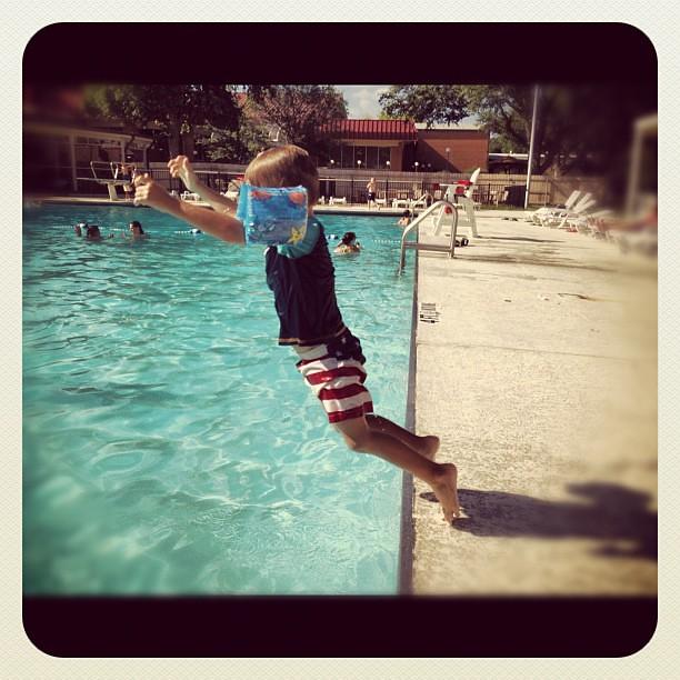 Splish splash jumpin' obsessed!