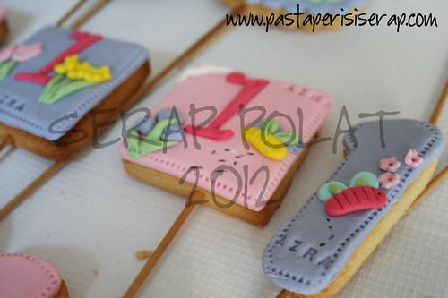 Azra- doğum günü kurabiye