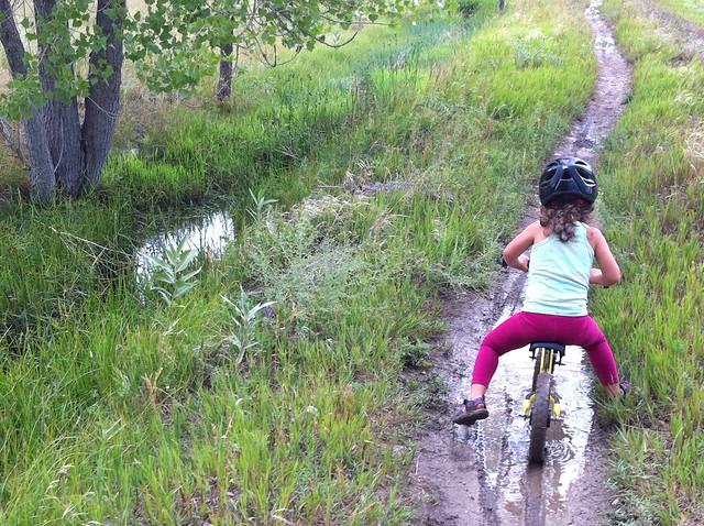 Singletrack after rain - Biking at Wonderland Lake, Boulder, CO