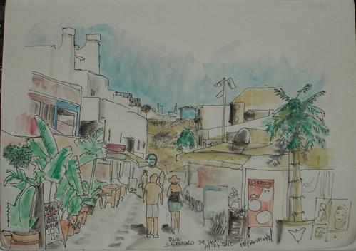 2012-07 rua São Gonçalo de Lagos, Albufeira