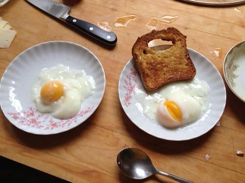 1st sous vide eggs! by hincman