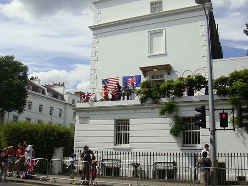 Terraza en Fulham Road