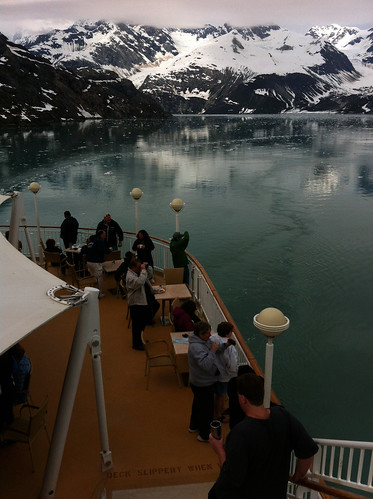 Norwegian Pearl - Aft Deck in Glacier Bay