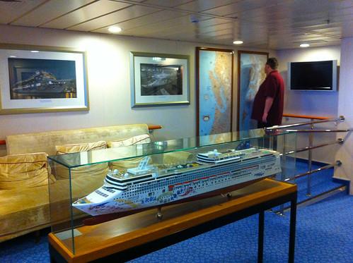 Norwegian Pearl - Bridge Viewing Room and Mike