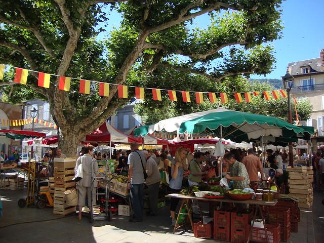 Millau market
