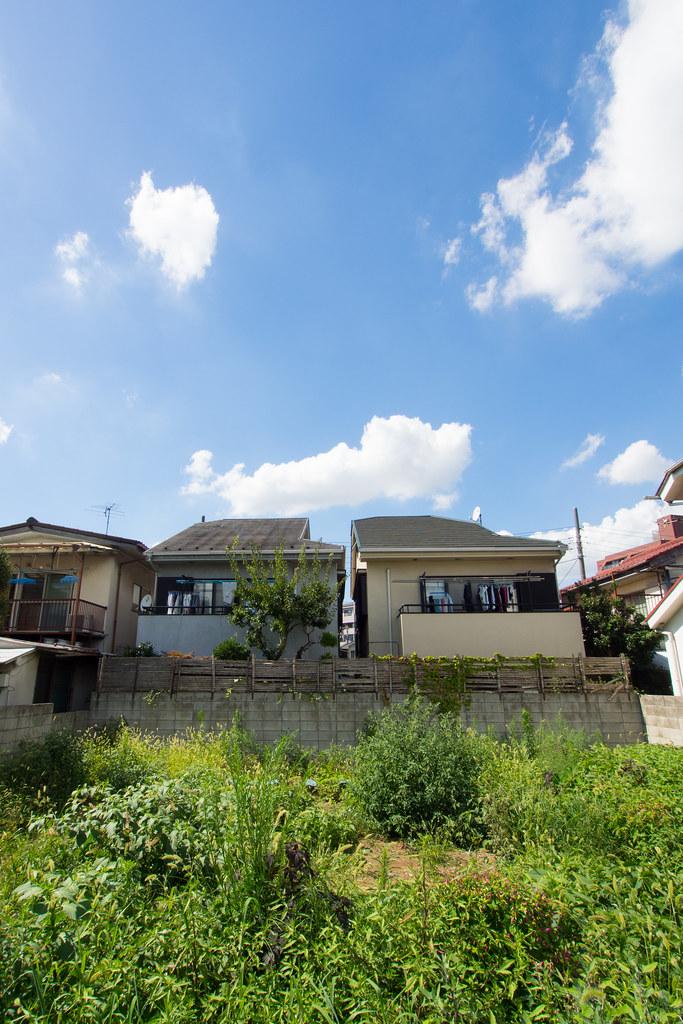 空き地と空 2012/08/05 OMD51864