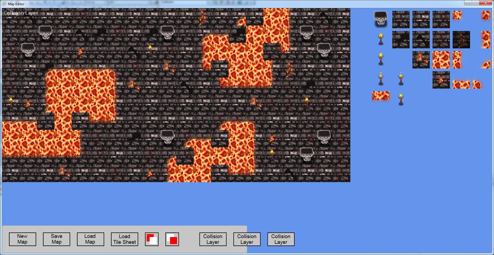 Collisions 2d tiles