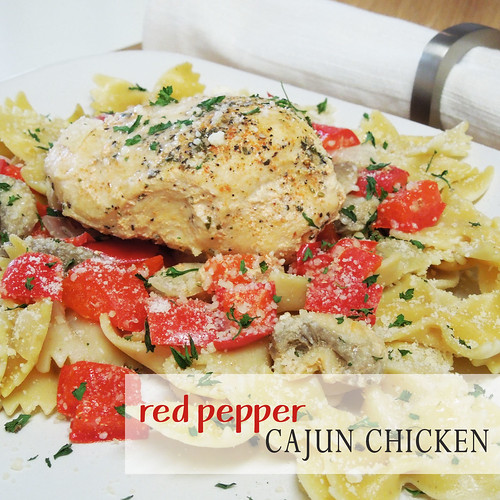 Red Pepper Cajun Chicken