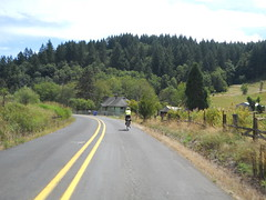 Rock Creek Road winds through gorgeous scenery