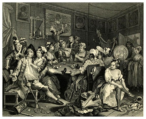 003-La vida de un libertino- The complete works of William Hogarth..1800